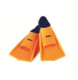 Maru Training Fins Orange/Navy