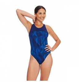 Zoggs Concord Zipped Back Swimsuit