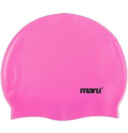 Maru Silicone Swim Hat Pink