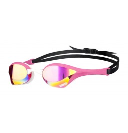 Arena Cobra Ultra Mirror Racing Goggles - Pink / White