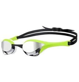 Arena Cobra Ultra Mirror Racing Goggles - Silver / Green
