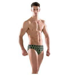 Maru Wired Pacer Brief Black/Lime