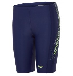 Speedo Sports Logo Panel Jammer Navy/Green