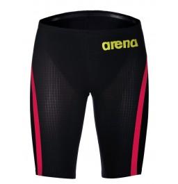 Arena Powerskin Carbon Flex VX Jammer - Dark Grey and Red