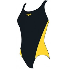 Speedo LEPA Splashback Black /Yellow