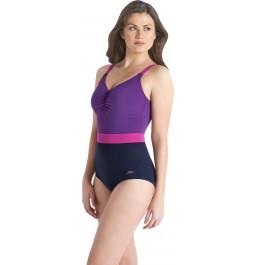Speedo Women's Sculpture Crystalshine Swimsuit Purple/Purple