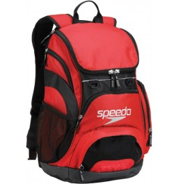 Speedo Large Teamster Backpack Red/Black 35-Liters
