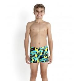 Speedo Essentials Boy's  Allover  Aquashort