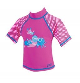 Zoggs Miss Zoggs Sun Protection Top Age 1-2 Years