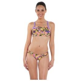 Speedo Women's Allover Rippleback 2 Piece Swimsuit
