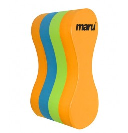 Maru Junior Pull Buoy Orange/Blue/Lime