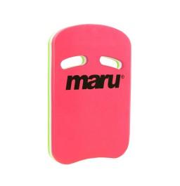 Maru Fitness Kickboard Pink/White/Lime