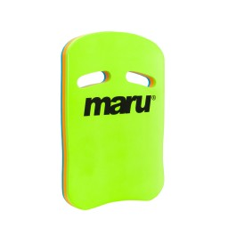 Maru Fitness Kickboard Turq/Orange/Lime