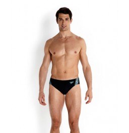 Speedo Men's Monogram 7cm Brief