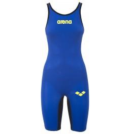 Arena Carbon Air Open Back Suit - Blue