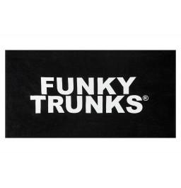 Funky Trunks Still Black Towel