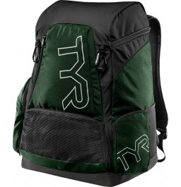 TYR Alliance Team Backpack 45L Black/Green