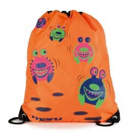 Maru Spikey Monster Swim Bag Orange