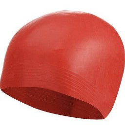 Plain Latex Swim Cap
