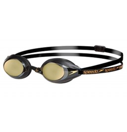Speedo Speedsocket Mirror Goggle - Black and Gold
