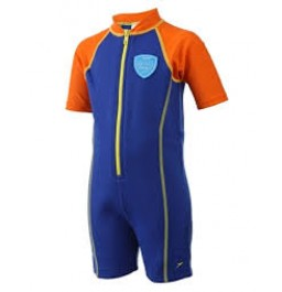 Speedo Hot Tot Suit Blue/Orange