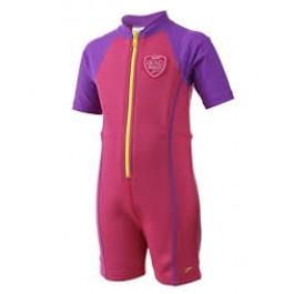 Speedo Hot Tot Suit Pink/Purple