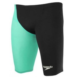 Speedo Men's Fastskin LZR Racer® Elite 2 High Waisted Jammer Black/Green