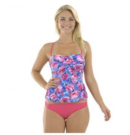 Zoggs Summer Bloom Tankini Pink/Multi