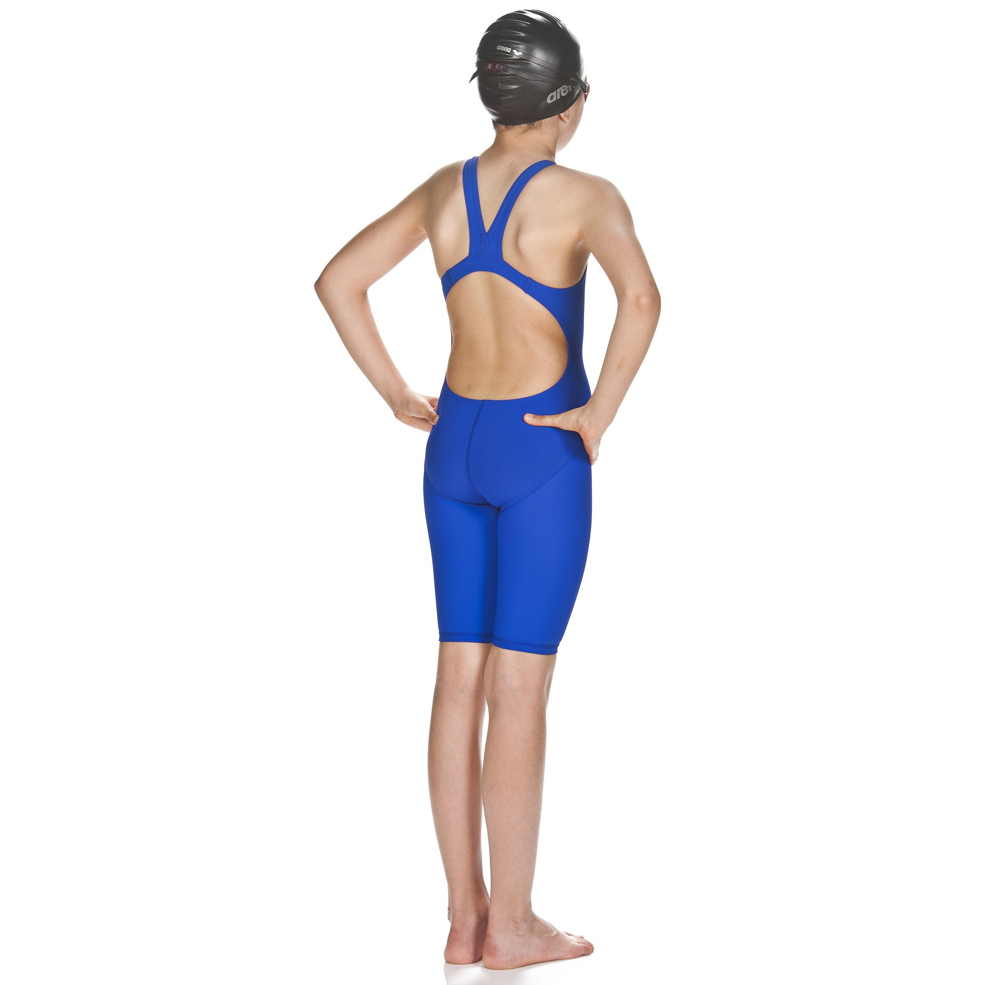Arena Girls Powerskin St Full Body Short Leg Open Back