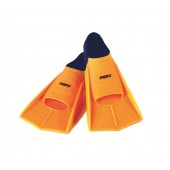 Maru Training Fins Orange/Navy