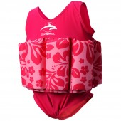 Konfidence Floatsuit Hibiscus/Pink