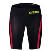 Arena Powerskin Carbon Flex VX Jammer - Dark Grey and Red