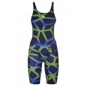 Arena Spider Legsuit - Navy/Leaf