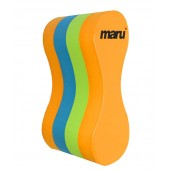 Maru Junior Pull Buoy Orange/Blue/Lime