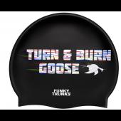 Funky Trunks Bum Goose Silicone Swim Cap
