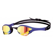 Arena Cobra Ultra Mirror Racing Goggles - Yellow / Blue