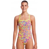 Funkita Womens Bound Up Strapped In One Piece