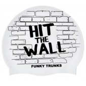 Funky Trunks Hit The Wall Silicone Swim Cap