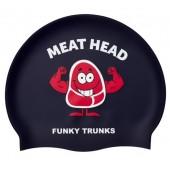 Funky Trunks Meathead Silicone Swim Cap