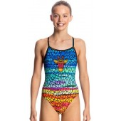 Funkita Girls Scorching Hot Single Strap One Piece