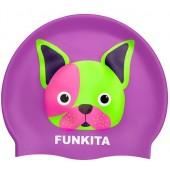 Funkita Pooch Party Silicone Swim Cap