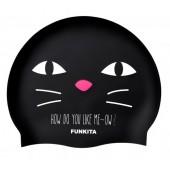 Funkita Meow Silicone Swim Cap