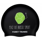 Funky Trunks Peace Out  Silicone Swim Cap