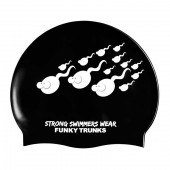 Funky Trunks Strong Silicone Swim Cap 419eb29b89d
