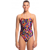 Funkita Womens Predator Party Single Strap One Piece