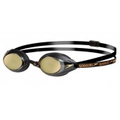 Speedo Speedsocket Mirror Goggle - Black and Gold