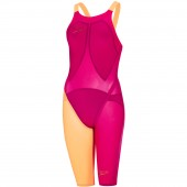 Speedo Fastskin LZR Racer Elite 2 Openback Kneeskin Red/Orange