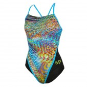 MP Womens Snake One Piece Swimsuit Racerback