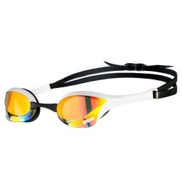 Arena Cobra Ultra Swipe Mirror Goggles Copper/White
