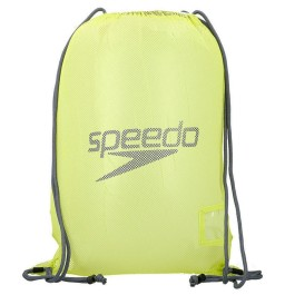 Speedo Mesh Equipment Bag - Green/Grey